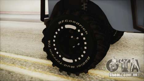 Land Rover Series 3 Off-Road para GTA San Andreas traseira esquerda vista