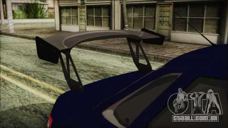 VAZ 2110 Esporte para GTA San Andreas vista traseira