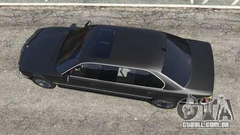 GTA 5 BMW L7 750iL (E38) voltar vista