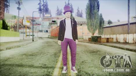GTA Online Skin 20 para GTA San Andreas segunda tela