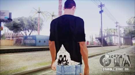 San Andreas T-Shirt para GTA San Andreas terceira tela