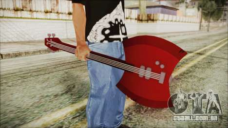 Axe Bass Marceline from Adventure Time para GTA San Andreas