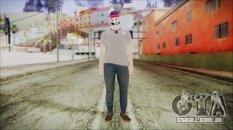 GTA Online Skin 1 para GTA San Andreas segunda tela