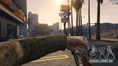 GTA 5 .30 Cal M1 Carbine Rifle sexta imagem de tela