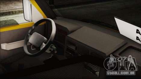 Iveco Turbo Daily Flota Valle De Tenza para GTA San Andreas traseira esquerda vista