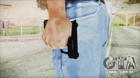 GTA 5 SNS Pistol - Misterix 4 para GTA San Andreas terceira tela
