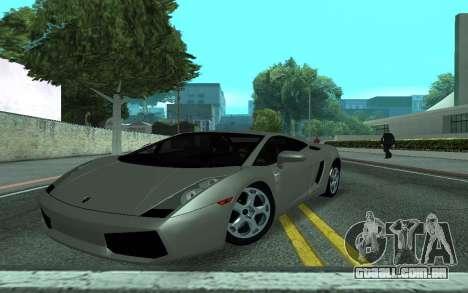Lamborghini Gallardo Tunable para GTA San Andreas