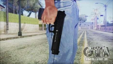 GTA 5 Pistol .50 v2 - Misterix 4 Weapons para GTA San Andreas terceira tela