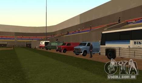 Beisebol para GTA San Andreas segunda tela