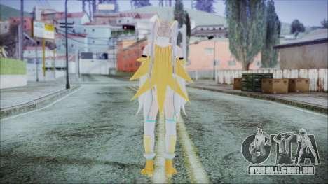 DoA5 LR Marie Rose Schoolgirl Striker Blonde para GTA San Andreas terceira tela