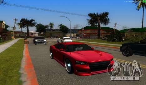 Não há melhor maneira para GTA San Andreas quinto tela