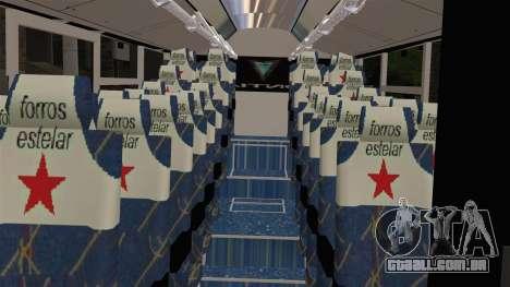 Lazcity Midibus Stylo Colombia para GTA San Andreas vista direita
