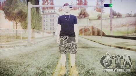 GTA Online Skin 46 para GTA San Andreas segunda tela