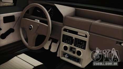 Fiat Uno Fire Tuning para GTA San Andreas vista direita