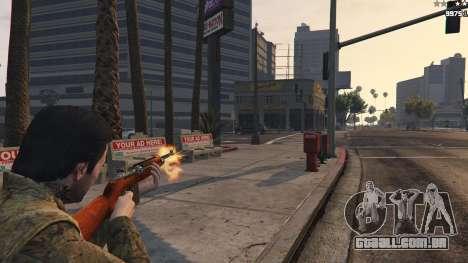 GTA 5 .30 Cal M1 Carbine Rifle terceiro screenshot