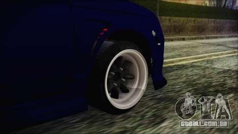 VAZ 2110 Esporte para GTA San Andreas traseira esquerda vista