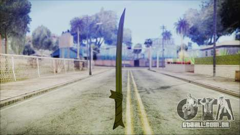 Grass Sword from Adventure Time para GTA San Andreas segunda tela