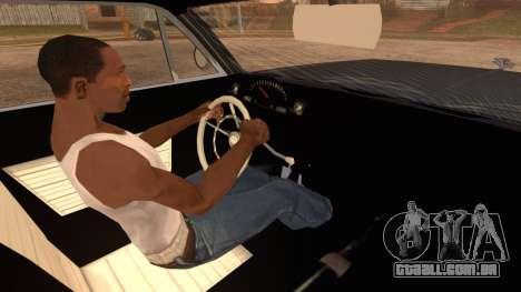 GTA 5 Declasse Clean Voodoo Hydra Version IVF para GTA San Andreas traseira esquerda vista
