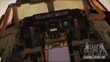 Boeing 747-237Bs Air India Krishna Deva Raya para GTA San Andreas vista traseira