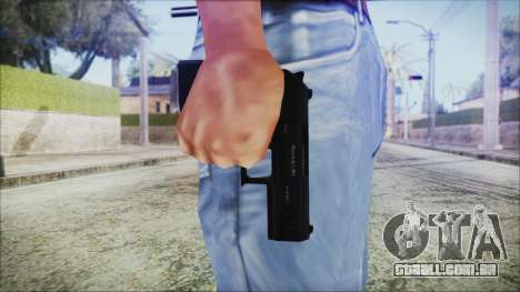 GTA 5 Combat Pistol v2 - Misterix 4 Weapons para GTA San Andreas terceira tela