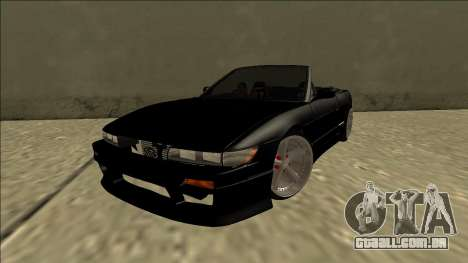 Nissan Silvia S13 para GTA San Andreas traseira esquerda vista