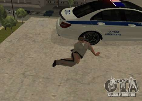 New Animations para GTA San Andreas segunda tela