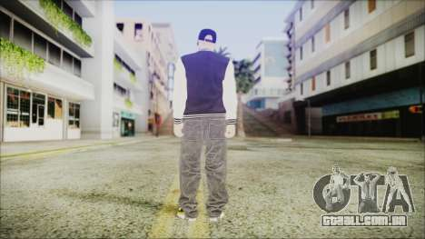 GTA Online Skin (DLC Lowriders) para GTA San Andreas terceira tela