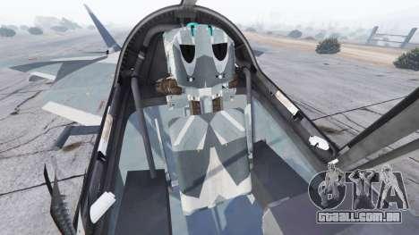 GTA 5 T-50 PAK FA v0.02 sexta imagem de tela