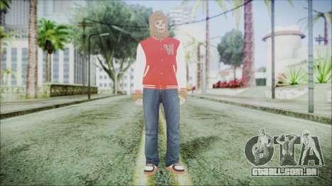 GTA Online Skin 34 para GTA San Andreas segunda tela