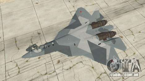 GTA 5 T-50 PAK FA v0.02 quarto screenshot