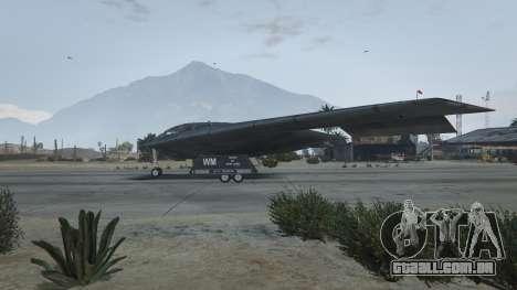 GTA 5 B-2A Spirit Stealth Bomber terceiro screenshot