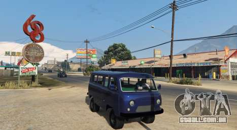 GTA 5 UAZ 3962 BETA 1.0 vista lateral esquerda