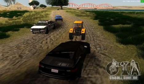 Não há melhor maneira para GTA San Andreas terceira tela