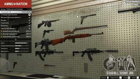 GTA 5 .30 Cal M1 Carbine Rifle segundo screenshot