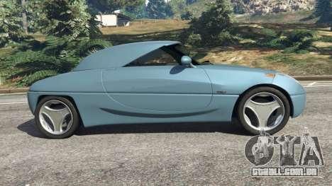 GTA 5 Daewoo Joyster Concept 1997 v1.2 vista lateral esquerda