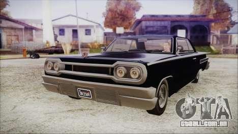 GTA 5 Declasse Clean Voodoo Hydra Version IVF para GTA San Andreas
