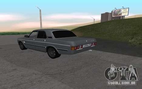 GAZ 31029 Volga para GTA San Andreas vista direita
