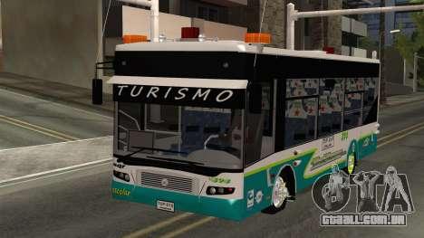 Lazcity Midibus Stylo Colombia para GTA San Andreas