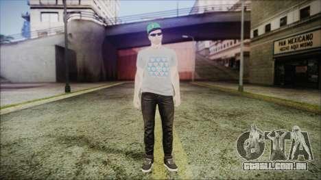 GTA Online Skin 45 para GTA San Andreas segunda tela