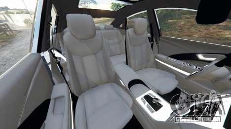 Hyundai Grandeur 2016 para GTA 5