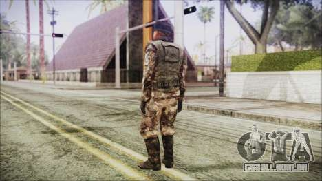 World In Conflict Orlovsky Winter para GTA San Andreas terceira tela
