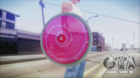 Steven Shield from Steven Universe para GTA San Andreas terceira tela