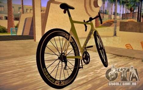 GTA 5 Whippet Race Bike para GTA San Andreas esquerda vista