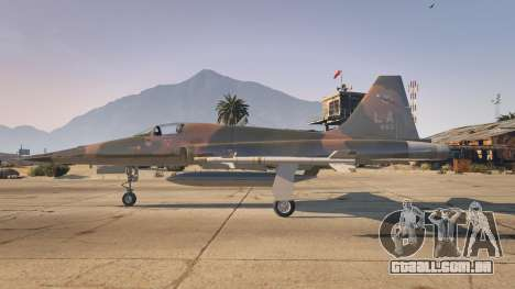 GTA 5 Northrop F-5E Tiger II USA segundo screenshot