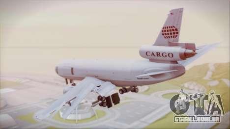McDonnell-Douglas DC-10-30F World Airways para GTA San Andreas esquerda vista