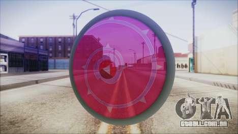 Steven Shield from Steven Universe para GTA San Andreas