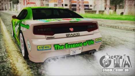 GTA 5 Bravado Buffalo Sprunk para vista lateral GTA San Andreas