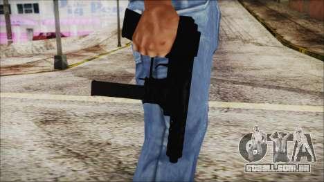 TEC-9 ACU para GTA San Andreas terceira tela