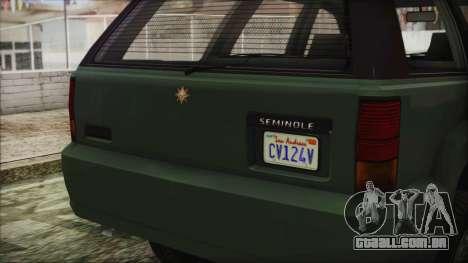 GTA 5 Canis Seminole para GTA San Andreas vista direita