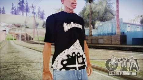 San Andreas T-Shirt para GTA San Andreas segunda tela